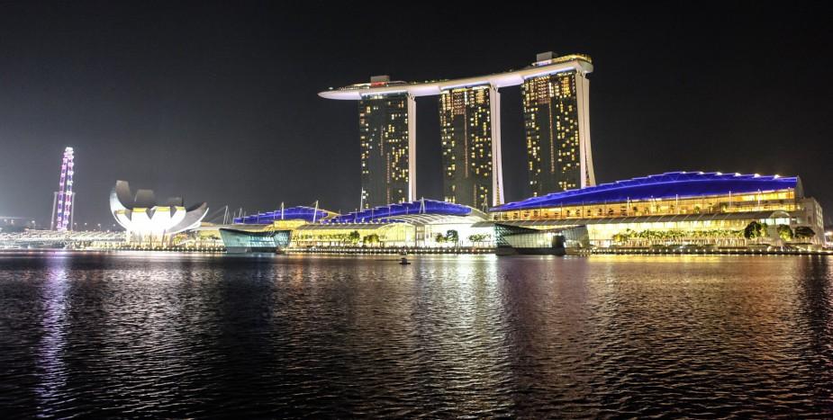 reise med barn til Singapore